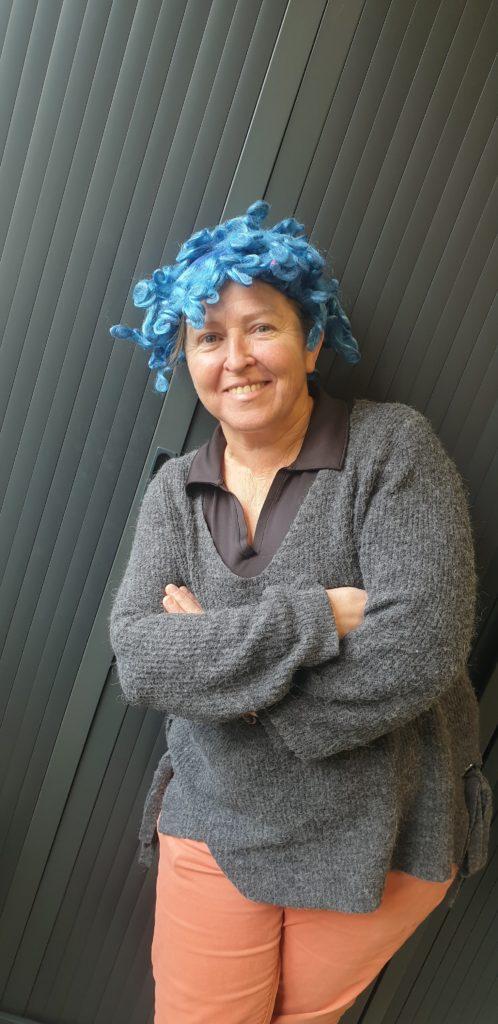 Photo de la directrice de l'ALSH d'Aubenas
